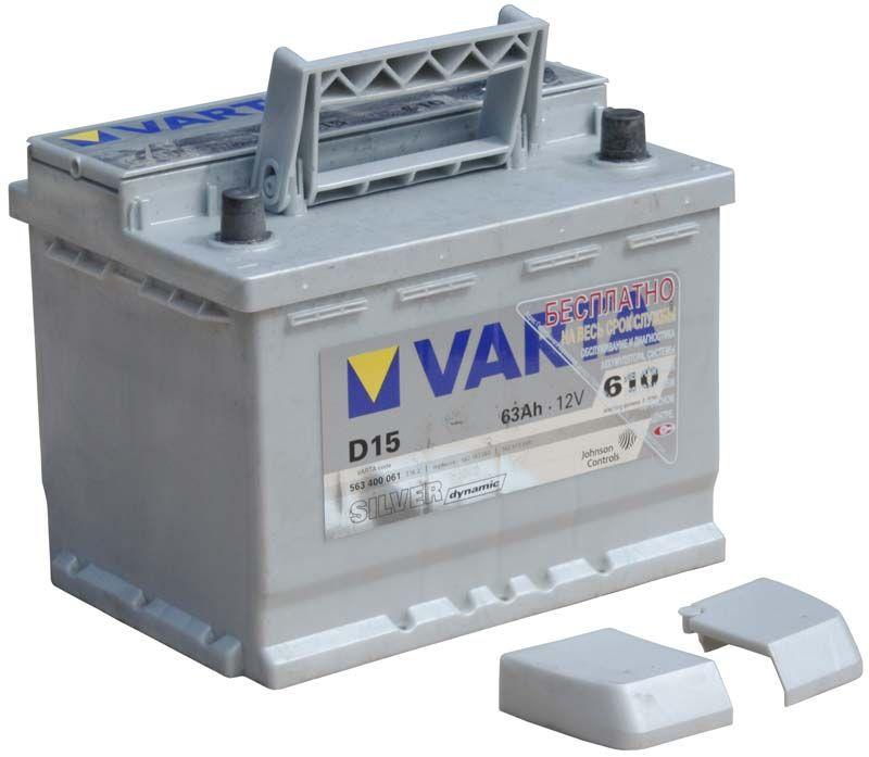 Bilbatteri - VARTA D15 SILVER DYNAMIC - 563 400 061 (12 volt, 63 amp) - VARTA - Autofix.nu
