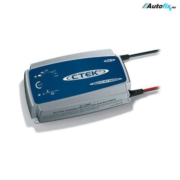 CTEK Lader - Multi XT 14000 - Batterilader 24 Volt
