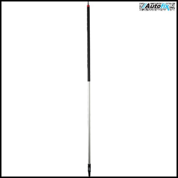 Vikan - Alu Vaske Skaft - M/Vandgennemløb - 190 cm