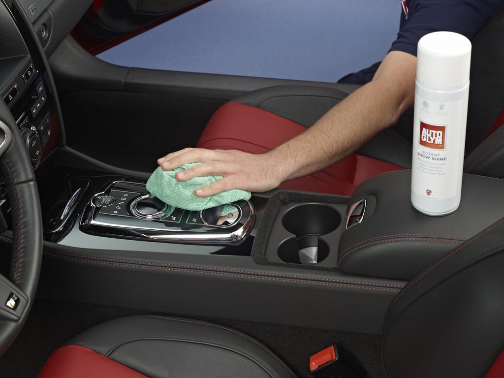 pol rspray til hurtig voksbehandling og rensning af bilens lak mm
