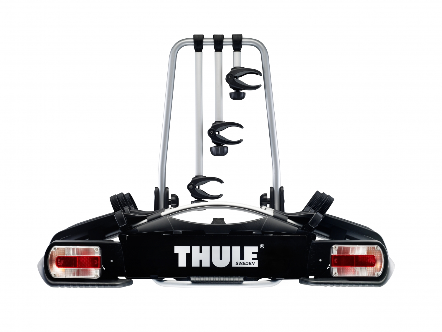 euroride 943 thule cykelholder til 3 cykler bag p bilen. Black Bedroom Furniture Sets. Home Design Ideas