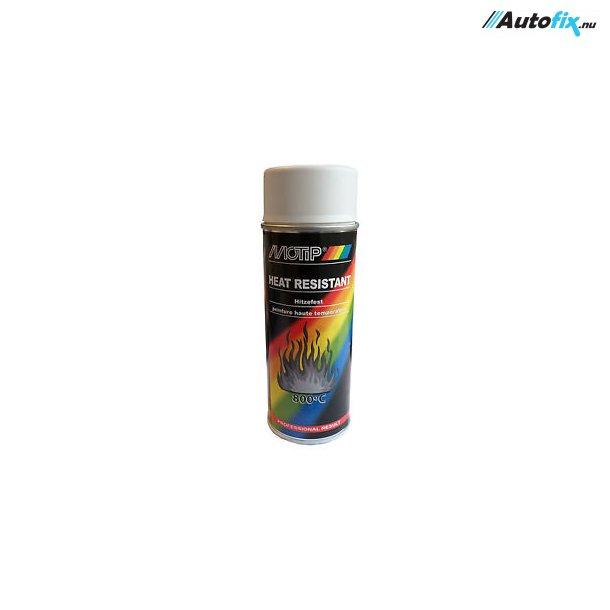 Varmefast Maling Hvid 800°C - MoTip - Spray 400 ml