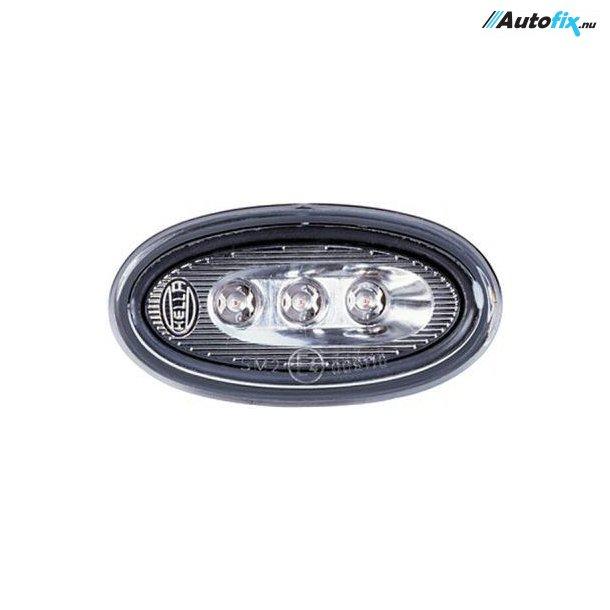 Hella LED - Sidemarkeringslygter - 4 Stk. Sølv 12V