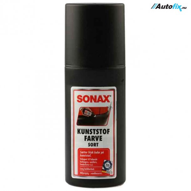 SONAX - Kunststoffarve Sort - 100 ml