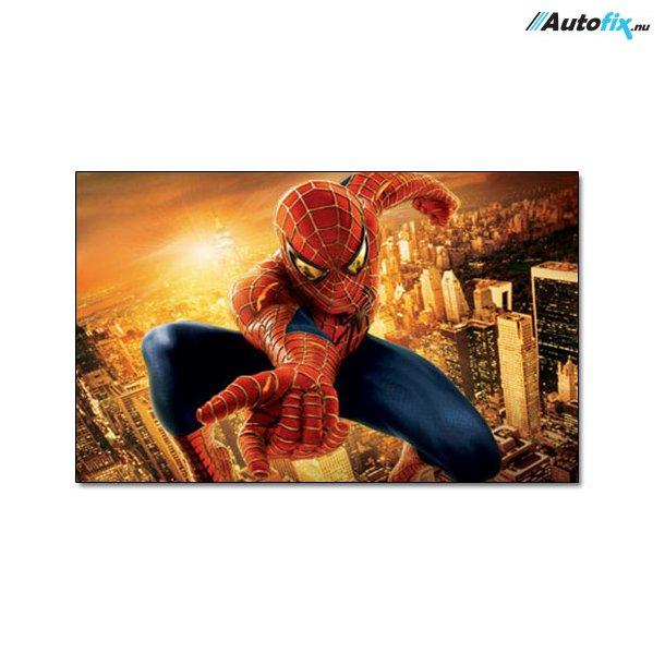 Solbeskytter til bagrude - Spiderman 1 stk - 100 x 50 cm