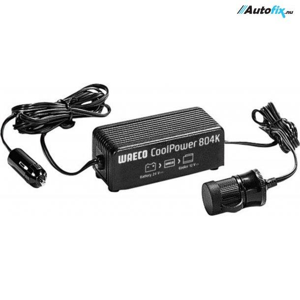 Omformer 24V->12V - WAECO CoolPower 804K - 4A / 48 Watt