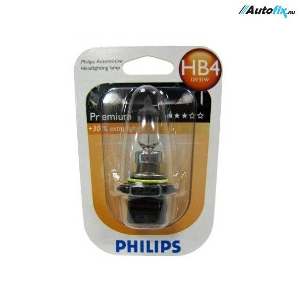 HB4 Pære - Philips Premium - 12V-55Watt