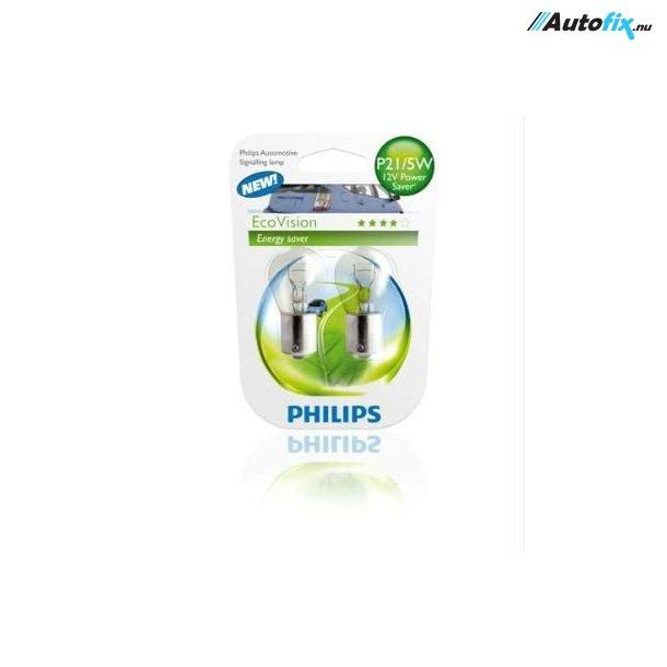 P21/5W Pære - Philips LongLife EcoVision - (2 Stk)