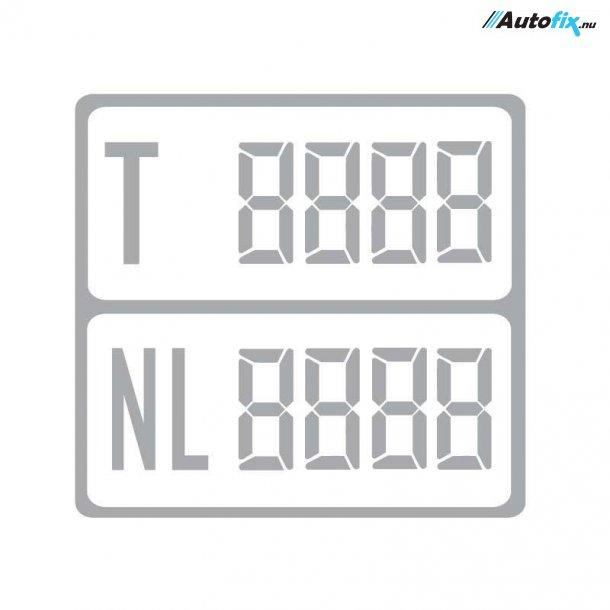 Digital Vægttavler - Med Nyttelast - 1 stk (Sølv)