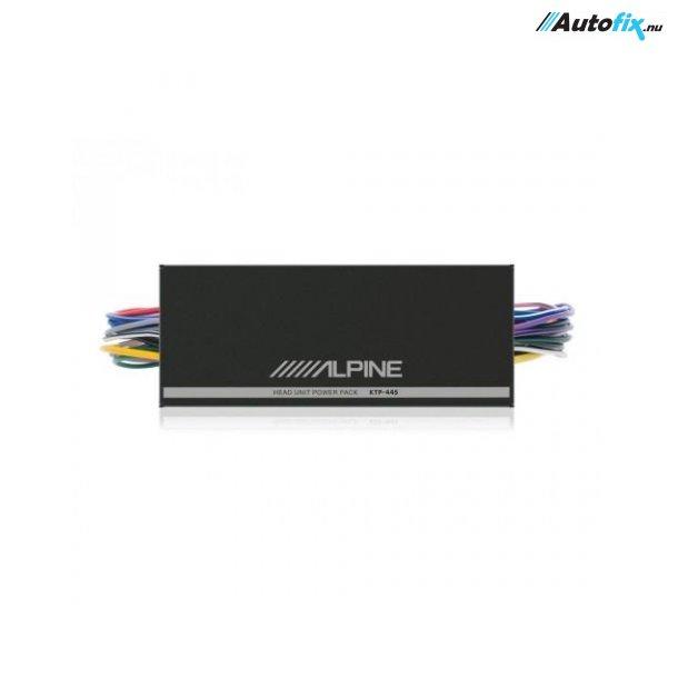 Forstærker ISO - ALPINE KTP-445 - 4x100W
