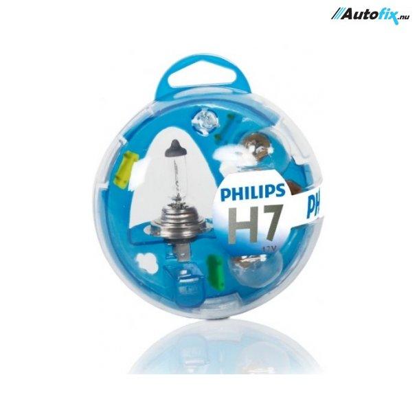Reservepære Kit H7 - Philips Smart Nødpakke