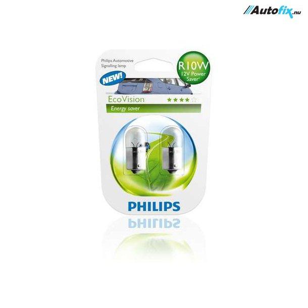 R10W Philips LongLife EcoVision (12814) (2 Stk)