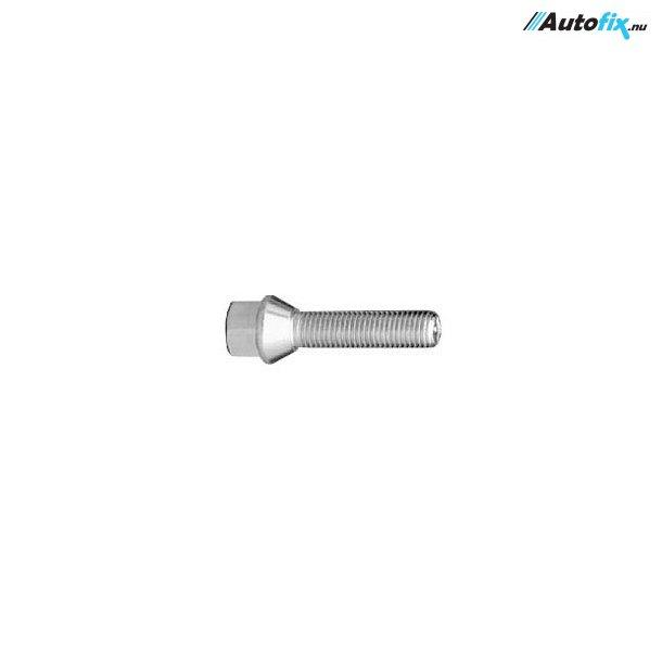 Hjulbolt Galvaniseret (M12x1.5x28 mm)