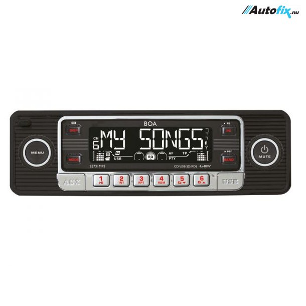 Retro - AutoRadio - Black