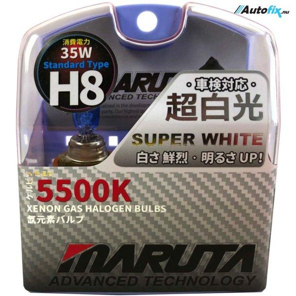 H8 Pære - MTEC Super White - 35 Watt 2 stk.