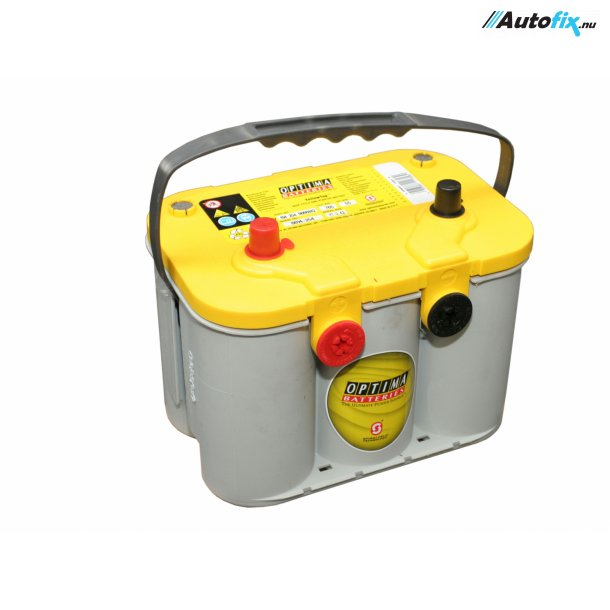 OPTIMA Batteri - Yellow Top - (12 Volt, 55 Amp)