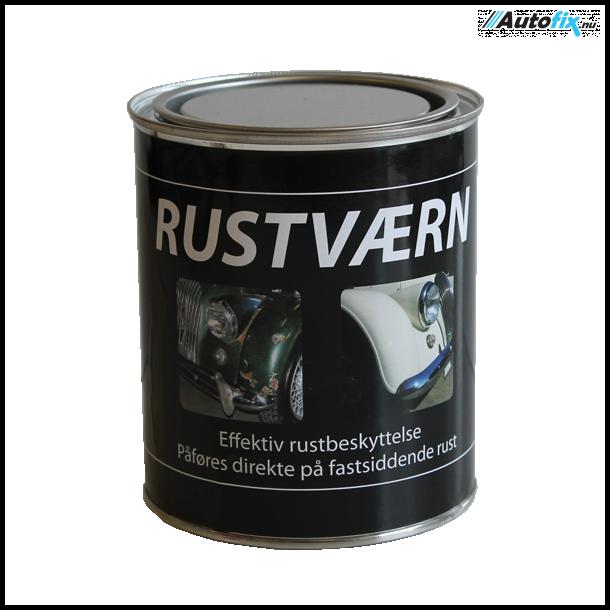 Grundmaling - RUSTVÆRN Til Pensel - Grå 750 ml