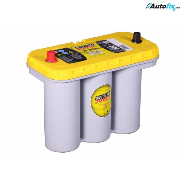 OPTIMA Batteri - Yellow Top (12 Volt, 75 Amp)