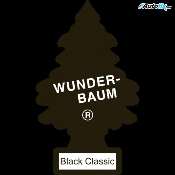 Dufttræ - Wunderbaum - Duft Af Black Classic