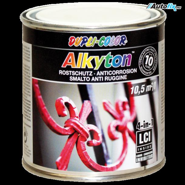 Anti-Rust Maling - Alkyton Sølv - Hammer Effekt