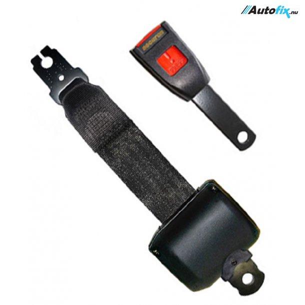 Sikkerhedssele / Hoftesele - 2 Pkt. Rullesele sele L. 110 cm m/ Fast Arm L.15 cm