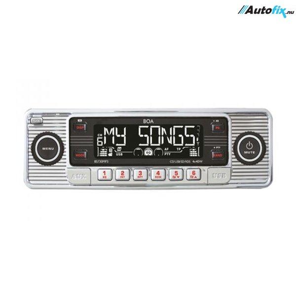 Retro - AutoRadio - Sølv