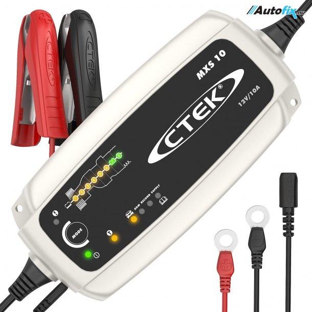 CTEK Lader MXS10 - Batterilader - 10A 12V