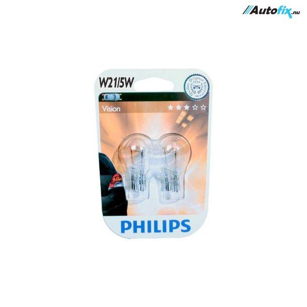 21/5W Philips Premium (2 Stk) (Glassokkel) (12066)