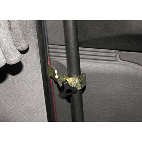 Indvendig dørsikring til lastbil