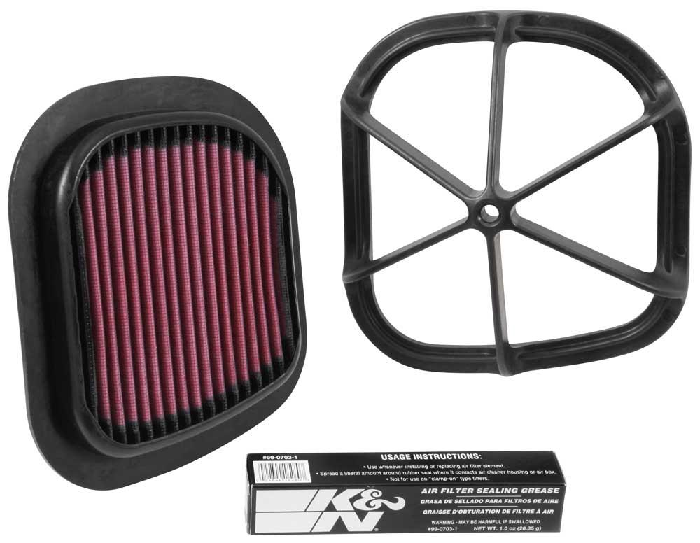 K&N Diverse Motorcykel & ATV Luftfilter