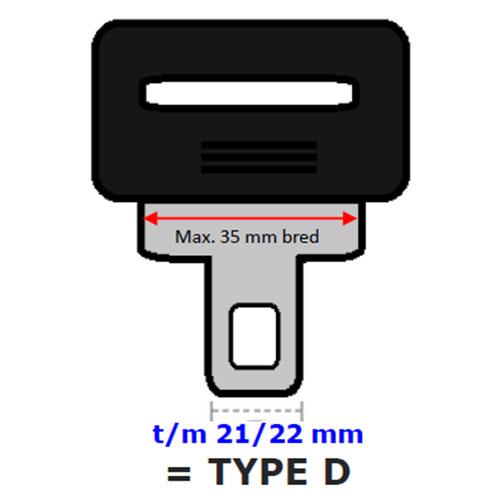 Seleforlænger Type D