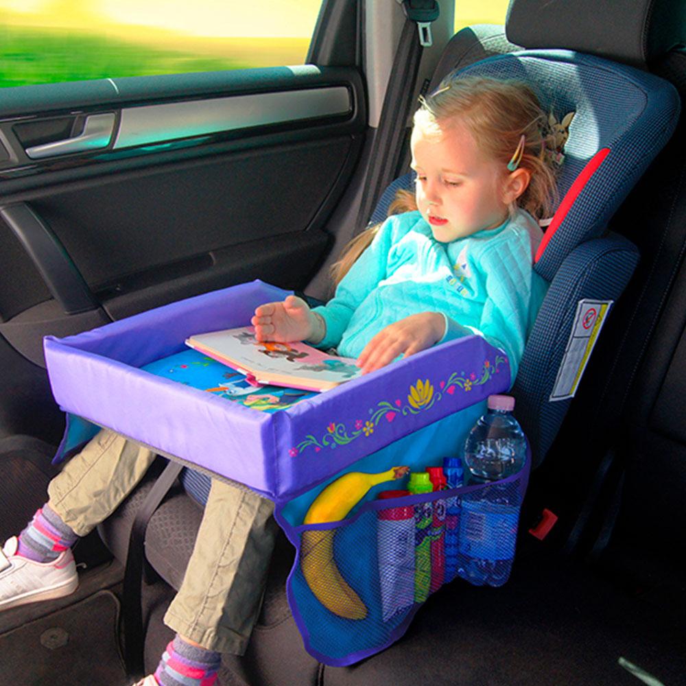Aktivitetsbord til børn i bilen