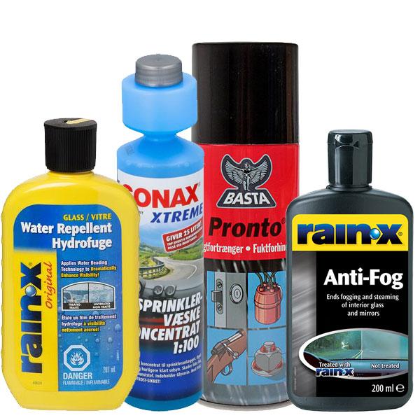 Sprinklervæske, Vandafvisende, Dug- & Fugtfjerner