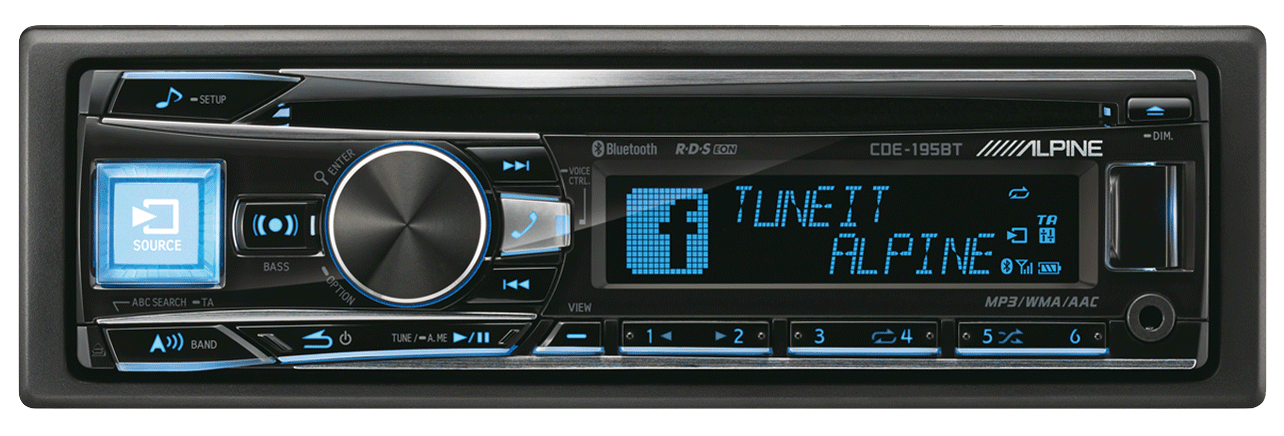 1DIN Autoradio