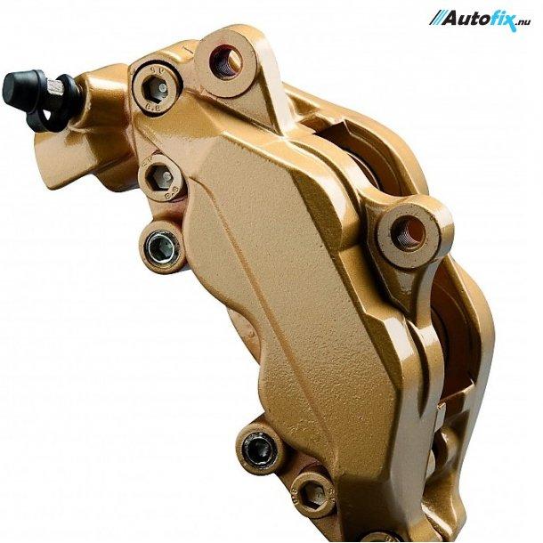 Bremsekaliber Maling - Foliatec Guld - 2K Pensel