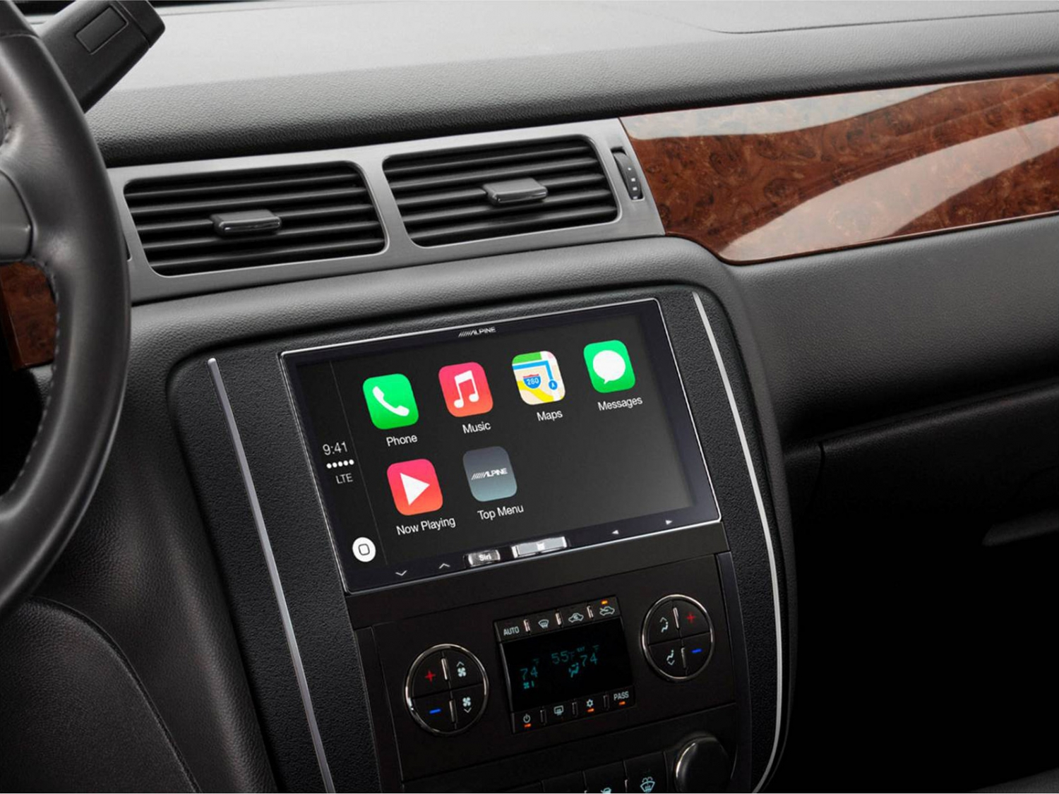 alpine ilx 700 2 din apple carplay 7 2din autoradio. Black Bedroom Furniture Sets. Home Design Ideas