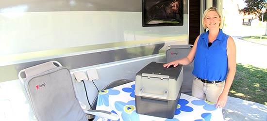 waeco coolfreeze cf 35 k le og fryseboks b rbar m kompressor. Black Bedroom Furniture Sets. Home Design Ideas